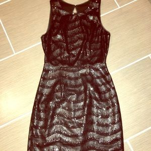 BCBG sequent dress